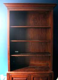 painted shelves paint wood dark book shelf lighten up a bookcase without home office best for