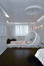 Bedroom Elegant Modern Bedroom Decoration Using White LED Lamp In ...
