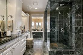 Luxury Showers Delighful Luxury Master Bathroom Shower Bath White And Grey Marble