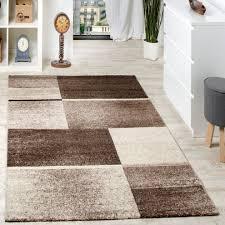 Paco Home Edler Designer Teppich Wohnzimmer Holzstamm Baum Optik