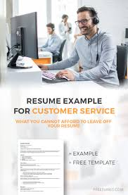 A Winning Resumes How To Write A Winning Customer Service Resume Example