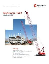 Manitowoc 2250 Load Chart Manitowoc 2250 Manual
