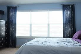 Marvelous If You Use Stationary Panels, You Can Also Skip The Extra Long Curtain Rod  And Use A Shorter Rod On Each End Of The Window, Extending Beyond The Window  ...