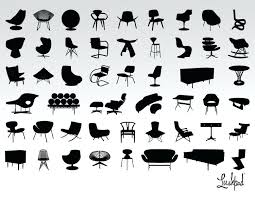 iconic modern furniture. Iconic Mid Century Modern Furniture Collection In Designers Collections Interiors