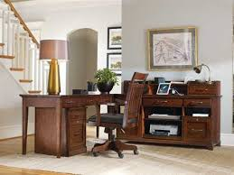 Home office set Two Tone Hooker Furniture Wendover Home Office Set Luxedecor Home Office Furniture Sets For Sale Luxedecor