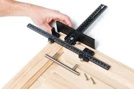 cabinet handle installation cabinet door jig true position tools cabinet hardware installation