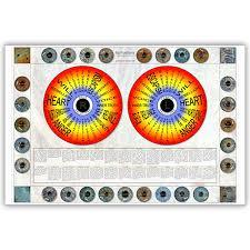 Iridology Chart Pdf Iris Wall Chart