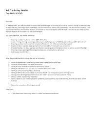 Key Holder Resume Sample Resume Key Cityesporaco 9