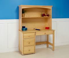 boys desk with hutch natural