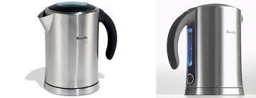 breville electric tea kettle. Modren Electric Breville Ikon StainlessSteel Electric Kettle With Tea E