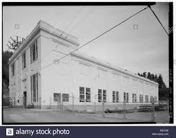 Puget Sound Power And Light Company North And West Facades Of Powerhouse Looking Southeast