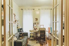 cozy furniture brooklyn. A Cozy Brooklyn Apartment For An Artist And Teacher DesignSponge Furniture