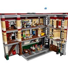 Amazon.com: LEGO Ghostbusters 75827 Firehouse Headquarters Building Kit  (4634 Piece): Toys & Games