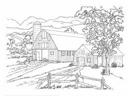 Barn Coloring Pages To Print Lovely Barn Coloring Pages Free