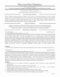 Security Resume Sample Inspirational Resume Skills And Abilities