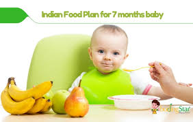 Food Chart For 21 Month Old Baby Indian Diet Plan For 7 Months Old Baby Budding Star