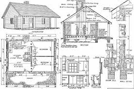 Apartments Small Cabin Floor Plans With Loft Cabin Floor Plans Large Log Cabin Floor Plans