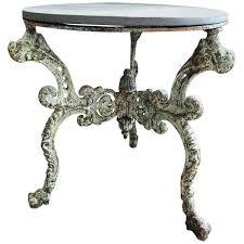 19th century cast iron table base ann