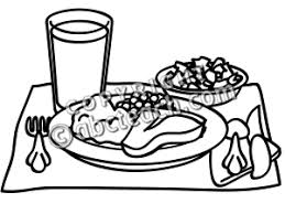 dinner table clipart black and white. pin feast clipart black and white #1 dinner table