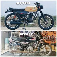 The entry level bike bajaj platina 100cc was launched as the cheapest bike in its segment to compete with hero honda. Humble Bajaj Ct 100 Modified Into A Scrambler Looks Wilder