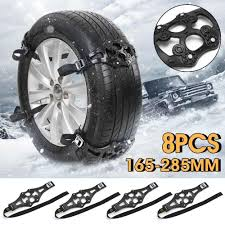 10x Universal Winter Truck <b>Car</b> Tyre Wheel Safety Snow Chain Tire ...