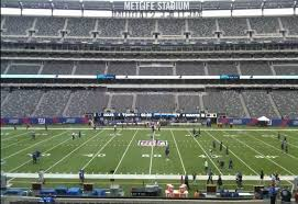 Ny Giants Seating Chart With Rows Giants Jets Seating Guide Metlife Stadium Rateyourseats Com