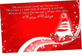 Free Holiday Photo Greeting Cards Holiday Ecard Template