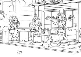 Lego For Girls Coloring Page Printable