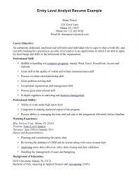 Entry Level Resume Objective Impressive Entry Level Resume Objective Examples Resume Pinterest Sample