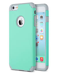 iphone 6 plus case. ulak sk280740 hybrid hard case for iphone 6 plus and 6s (turquoise/ iphone l