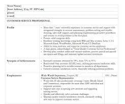 32 Job Wining Resume Samples For Customer Service Position Vinodomia