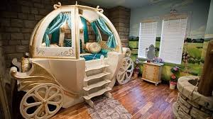White and Gold Princes Carriage Bed