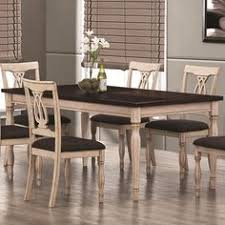 camille transitional white ash dining table dinning setdining room setsdining areadining tablescoaster furniturefine
