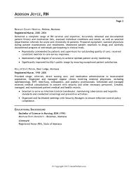 41 Impressive Rn Cv Sample Resume Template
