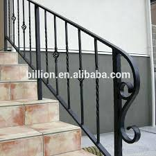 handrail outdoor steps wrought iron handrails for build deck step ideas metal uk handrail outdoor steps