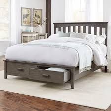 California king mattress frame Depot Fashion Bed Group Hampton Beachwood Gray California King Storage Bed With Solid Wood Frame And Two Bellacor Solid Wood California King Bed Bellacor