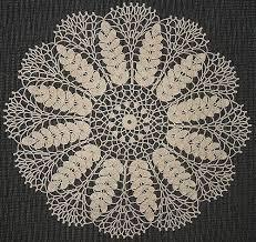 Lace Wheat Doily Free Crochet Pattern