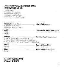 Jean Philippe Rameau I 68 3 I 764
