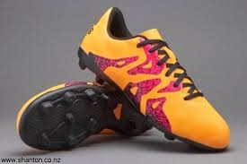 adidas x 15 4 kids fg solar gold core rugby boots black shock temperate pink bdehmtwz14