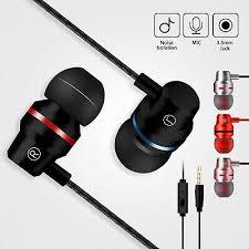 HIFI Super Bass Headset <b>3.5mm In-Ear Earphone Stereo</b> Earbuds ...