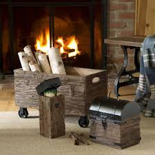 fireplace wood holder