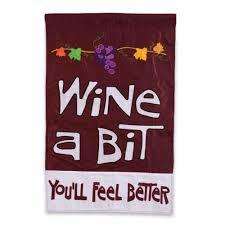 12 5 in w x 18 in h wine a bit you ll feel