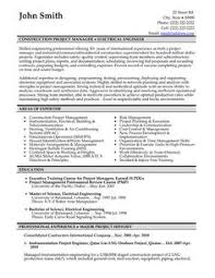 click here to download this construction project manager resume template httpwww engineering executive resume