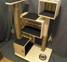 modern cat tree furniture. Cat Tree Furniture - Hollywood Thing Modern E