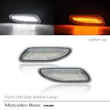 Front Side Marker Light Amazon Com Amber White Switchback Led Side Marker Light For