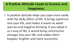 building positive attitude tea formuls thought emotions actions 6 a positive attitude