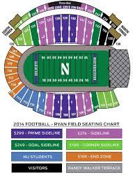 New Welsh Ryan Seating Chart Northwestern Wildcats Michigan Football Family Association