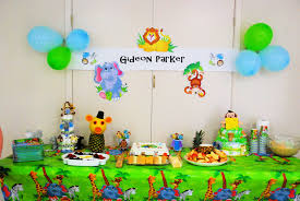 Jungle Baby Shower Party Ideas  Baby Shower Parties Shower Party Baby Shower Jungle