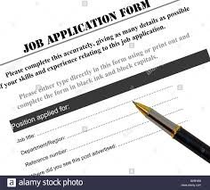 completing a job application form pen stock photo royalty completing a job application form pen