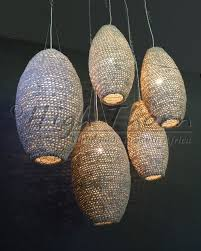 crocheted leather pods